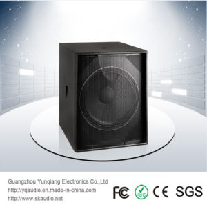 Single 18 Inch 600W PRO Audio Passive Subwoofer Professional Speaker pictures & photos