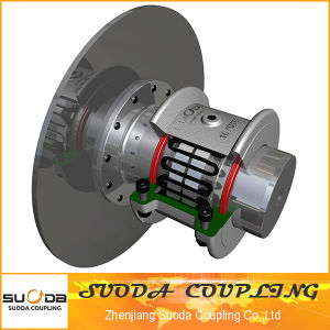 High Quality Large Transmission Torque with Brake Plate Grid Coupling pictures & photos