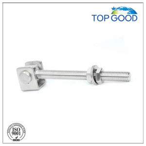 Stainless Steel Long Thread Fence Door Hinge (90020.2) pictures & photos