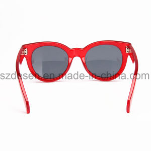 Wholesale Fashionable Jelly Color UV400 PC Sunglasses pictures & photos