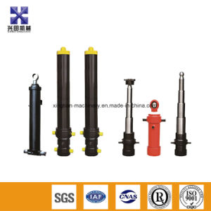 No Standard Dump Truck Oil Cylinder with Superior-Quality Telescopic Cylinder for Tipper pictures & photos