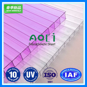 Anti-Drip PC Hollow Sheet for Agriculture Greenhouse pictures & photos