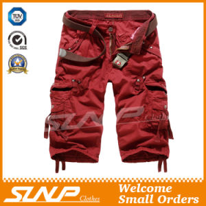 Men′s Summer Cargo Shorts with Side Pockets