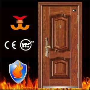 Fire Resistant Apartment Steel Entry Doors pictures & photos