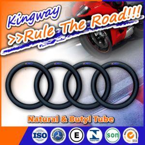 Natural Rubber Tyre Inner Tube Motorcycle Butyl Tubo 4.00-8