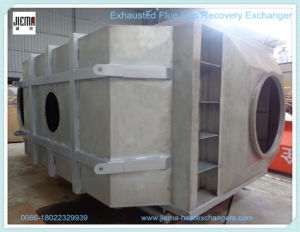 Exhausted Flue Gas Air Heat Exchanger for Heating Recovery pictures & photos