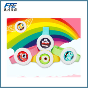 Colorful Cartoon Logo Mosquito Repellent Watch for Children pictures & photos