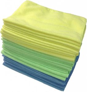 Microfiber Car Cleaning Towel 015 pictures & photos