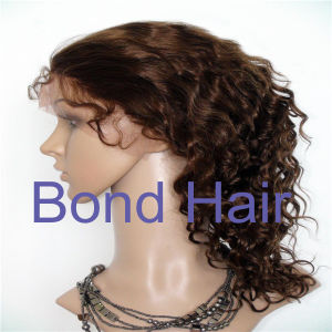 Brazilian Remy Hair Deepwave Full Lace Wigs pictures & photos