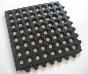 Best Quality Interlocking Rubber Flooring Mat pictures & photos