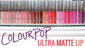 New Matte Lip Cream Brand Cosmetic Lipstick Colour Pop Ultra Matte Lipgloss Hyq-Cp01 pictures & photos
