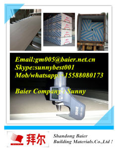 Good Prices for 7-15mm Partition Use Standard Size Plaster Board Gypsum Board pictures & photos