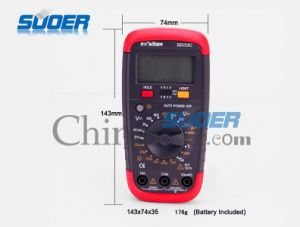 Suoer Low Price Digital Multimeter (SD_33C) pictures & photos