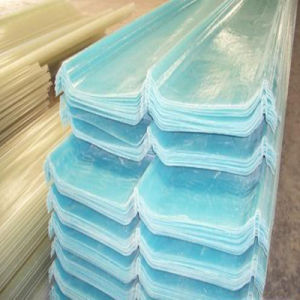 Strong Impact Resistance Heat Resistant Translucent FRP Roofing Sheets pictures & photos