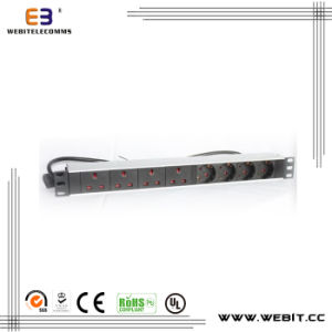 Multi Series of PDU with Germnay Outlets and UK Outlets pictures & photos