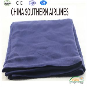 Cheap Price Promotional Airline Blankets 2017 New Design pictures & photos