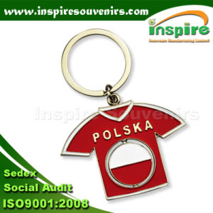 Polska T-Shirt Souvenir Keychain for Gift (MS470) pictures & photos