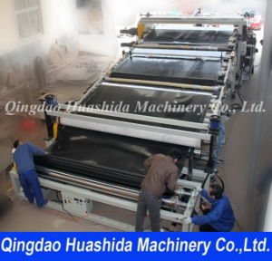 PE/PP Plastic Sheet Extrusion Line Making Machine (HSD) pictures & photos