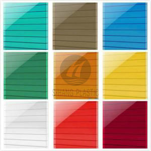 China Manufacturer Colorful Polycarbonate PC Hollow Sheet / Panel pictures & photos
