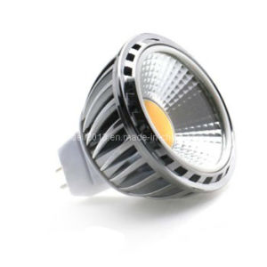 Aluminum Dimmable MR16 COB LED Spotlight Bulb 5W pictures & photos