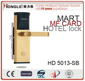 Electric Smart Hotel Card Reader Door Lock (HD5013) pictures & photos