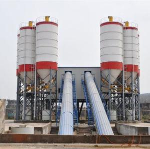 180 M³ /H Belt Convey Type Concrete Mixing Plant pictures & photos