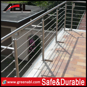 Stainless Steel Staircase Rod Railing Project (DD120) pictures & photos