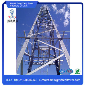 Hot Sale Steel Lattice Angle Steel Tower with 4 Legs pictures & photos