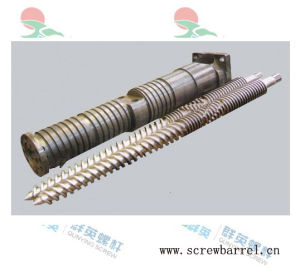 Bimetallic Extruder Twin Screw (QY-L077)