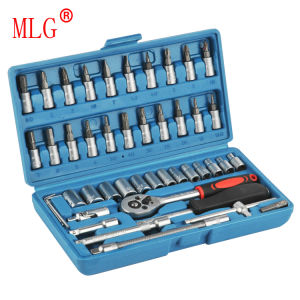 46PCS 1/4′′ Socket Set (MLG-2014-1)