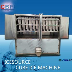 Edible Cube Ice Making Machine with PLC Controller pictures & photos