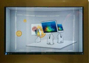 42inch LCD Display Transparent Customized pictures & photos