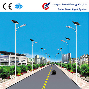 LED 135W Battery 12V 250ah Solar Street Light