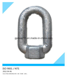 5/8′′ Galvanized Forged Steel Thimble Eye Nut pictures & photos