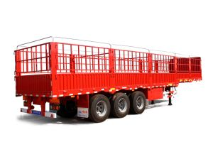 40 Tons 3 Axles Box Stake Truck Trailer / Cargo Trailer pictures & photos