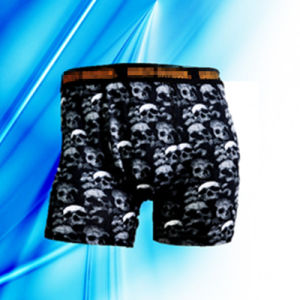 95% Cotton 5% Spandex Man′s Allover Print Briefs pictures & photos