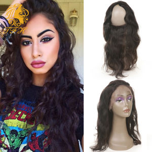 Hot Beauty Hair 360 Lace Frontal with Bundles pictures & photos