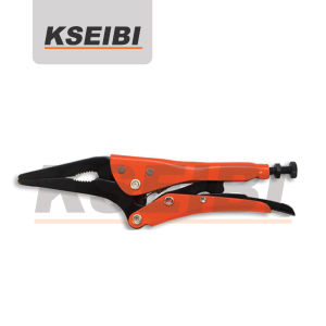 Kseibi - Long Nose Locking Pliers with Wire Cutter pictures & photos