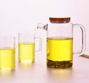 High Borosilicate Glass Pot Tea Glass Pot pictures & photos