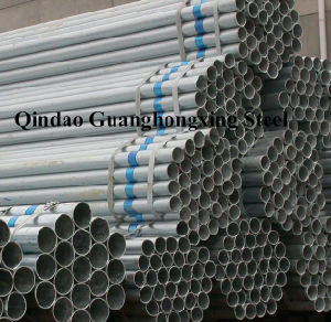 Gbq215A, DIN Ust34-2, Jiss330, ASTM A283m Gr. C, Hot DIP Galvanized Pipe pictures & photos