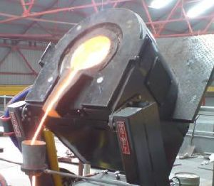 Brass Melting Induction Furnace pictures & photos