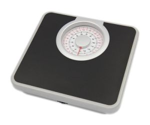 Metal Housing Plastic Circle Decoration Mechanical Bathroom Scale (XF808B) pictures & photos