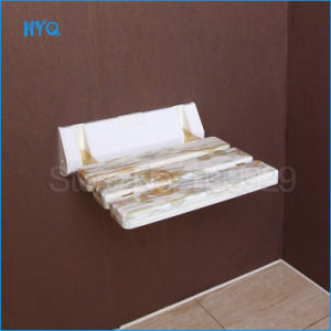 Foldable ABS Material Save Space Wall Mounted Shower Seat Hallway Resting Avaliable Seat pictures & photos