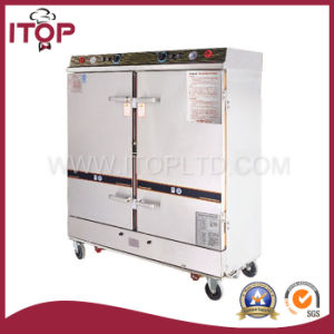 Double Doors Electric-Heating & Steam-Heating Rice Steamer (RS-24B) pictures & photos