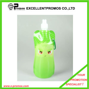 480ml or 16oz Portable Foldable Plastic Water Bottle (EP-B7154) pictures & photos