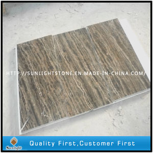 Cheap Chinese Coffee Brown Marble for Flooring and Wall Tile pictures & photos