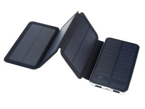 Dual USB 10000mAh Universal Solar Power Bank for Mobile Phone pictures & photos
