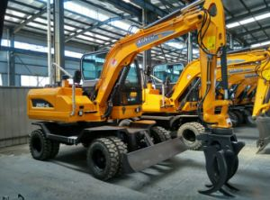 Wheel Excavator with Attachment Grabber/Tilt Bucket/Hammer/Thumb/Quick Hitch pictures & photos