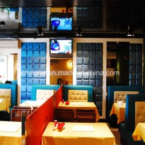 Art Soundproofing Fireproof Cheap 3D Board/Panel for Restaurant Wall Decorative pictures & photos