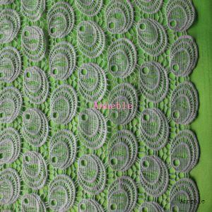Circle Eye Lace Faric for Garment